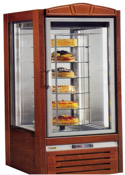 NN-F4T Cake Showcase Commercial Refrigerator Freezer With 6 Glass Doors